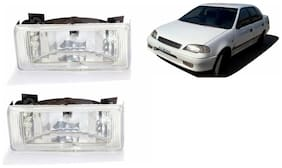 Carizo Fog Lamp Assembly Set Of 2-Maruti Suzuki Esteem