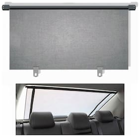 CARMATE Car Rear Roller Curtain (90Cm) For Renault Pulse - Grey