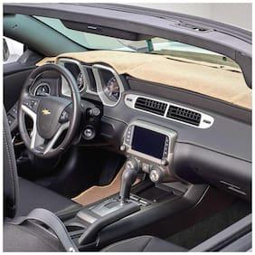 Carmate Car Dashboard Cover For Hyundai I10 - Beige