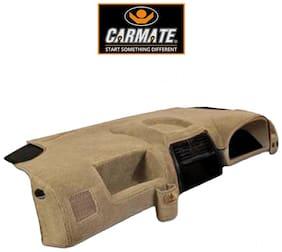 CARMATE CAR Dashboard Cover for Maruti Alto K10 - Beige