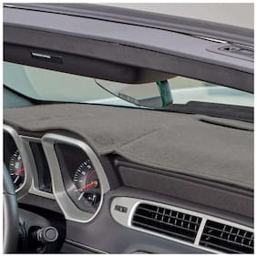 Carmate Car Dashboard Cover For Dzire 2011 - Grey