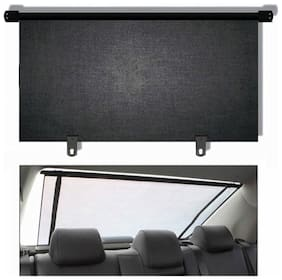 CARMATE Car Rear Roller Curtain (90Cm) For Tata Bolt - Black