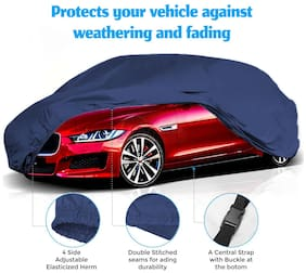CARMATE Parachute Custom Fitting Waterproof Car Body Cover for Mercedes Benz C220 - Blue
