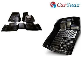 Carsaaz 5D mats for Mercedes C class-Black