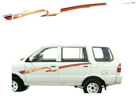 CarSaaz  Car Graphics/Stickers Decals (GL - 113 K) For Chevrolet Tavera Old