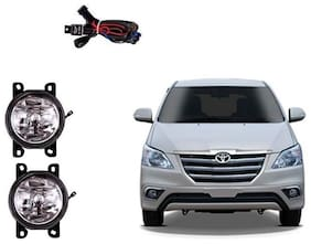 Carsaaz FOG LAMP For TOYOTA INNOVA Type 4 with wiring and switch