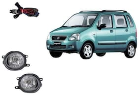 Carsaaz FOG LAMP For MARUTI WAGON R TYPE 1 with wiring and switch