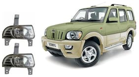Carsaaz FOG LAMP For NEW MAHINDRA SCORPIO TYPE 3-