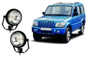 Carsaaz FOG LAMP For MAHINDRA SCORPIO TYPE 1