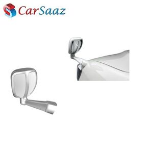 Carsaaz Front Fender Rear View Wide Angle Mirror - Silver for Audi Q7