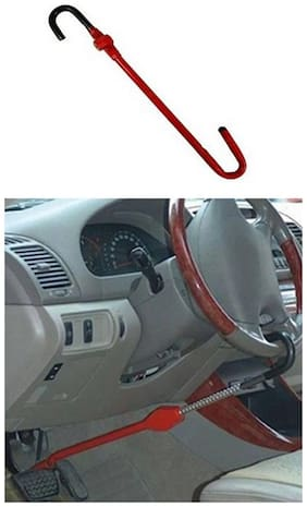 Carsaaz Pedal & Steering Lock for Hyundai Creta