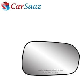 Carsaaz Right Side Sub-Mirror Plate for Toyota Fortuner