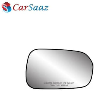 Carsaaz Right Side Sub-Mirror Plate for Mahindra Quanto