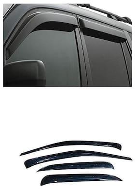Carsaaz Unbreakable Door Visor For Maruti New Baleno  (Set Of 4Pcs)