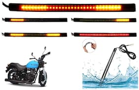 Cartronics 8-INCH Flexible Signal And Brake Light For Royal Enfield Thunderbird 500X