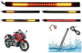 Cartronics 8-INCH Flexible Signal And Brake Light For Bajaj Pulsar RS200