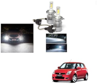 Cartronics- C6 H4 Headlight Bulb For Maruti Suzuki Old Swift