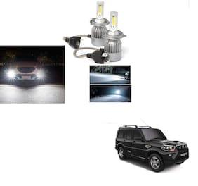 Cartronics- C6 H4 Headlight Bulb For Mahindra Scorpio