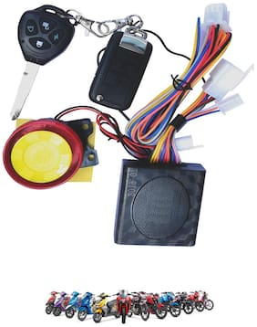Cartronics Motorcycle/Bike Alarm Security System for TVS All Bikes And Scooty
