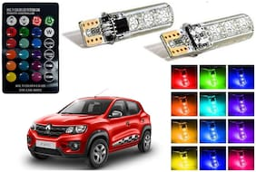 Cartronics Parking MultiColor Remote Bulb For Renault Kwid Pack Of 2