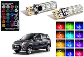 Cartronics Parking MultiColor Remote Bulb For Maruti Suzuki Alto-800 Pack Of 2