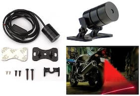 Cartronics Rear LED Laser Fog Light for All Bikes And Cars 1PC