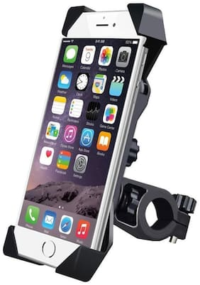 Cartronics Universal Mobile Holder Handle Fit For All Bike Scooty And Bicycle Black