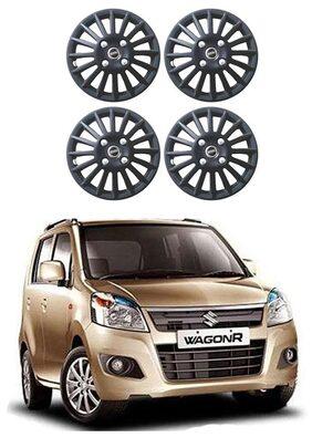 Carway 101 Series Matte Black Wheel Cover For Maruti Suzuki WagonR - Set of 4