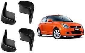 Carz 24 Premium Quality Mud Flaps For Maruti Suzuki Swift Type-Iii (Set Of4 Pcs)