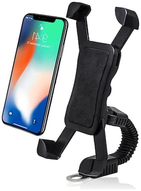 CARZEX Universal Scooty Mobile Holder & Bike Mobile Holder Mobile Stand For (All Scooty & Bike)