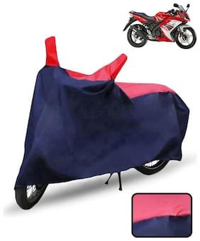 Carzex Bike Body Cover For Yamaha Yzf R15 S Motorcycle Cover(Red & Blue)