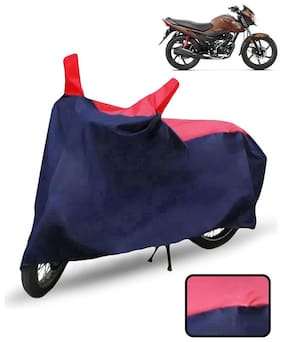 Carzex Bike Body Cover For Honda Livo Motorcycle Cover(Red & Blue)