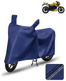 Carzex Bike Body Cover For Tvs Apache Rtr 200 Motorcycle Cover Blue