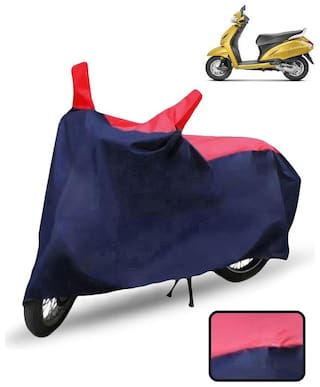 Carzex Scooty Cover For Honda Activa 5G Scooter Cover(Red & Blue)