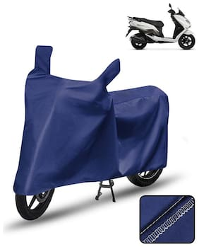Carzex Scooty Cover For Suzuki Burgman Street 125 Scooter Cover Blue