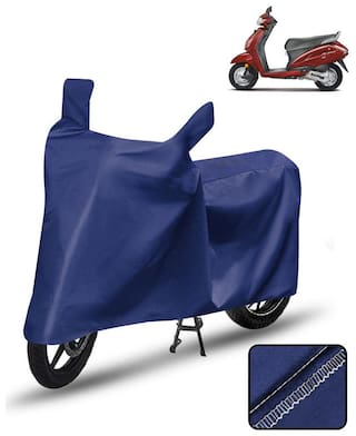 Carzex Scooty Cover For Honda Activa 4G Scooter Cover Blue