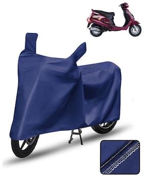 Carzex Scooty Cover For Mahindra Duro Scooter Cover Blue