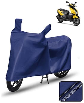 Carzex Scooty Cover For Tvs Ntorq 125 Scooter Cover Blue