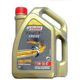 CASTROL POWER 1 CRUISE 4T 15W50 (2.5 Litres)