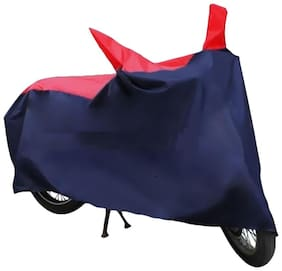CB UNICORN 150-RED & BLUE BODY COVER-HMS