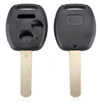 Combo of Honda 3 Button Key Shell & Key Cover