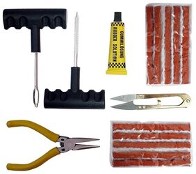 Complete Puncher KIt Tubeless Tyre Puncture Repair Kit