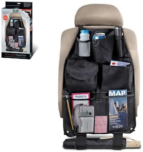 CONNECTWIDE Car Seat Organizer For Auto Seat Back With 6 Pockets Organizes Clutter