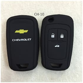 CP Bigbasket Silicone Flip Key Cover for Chevrolet Cruze