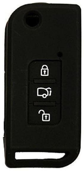 CP Bigbasket Silicon Key Cover For XUV 500 (Black)