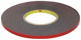 CP Bigbasket 3M car sticker Auto Double Foam Faced Adhesive Tape 10 mm 30 m Long