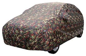 Cranzo Car Body Cover Heavy  Fabric Jungle Print  For Maruti Suzuki Baleno