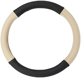 Cranzo Car Steering Wheel Cover Leather  For Hyundai I20