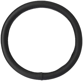Cranzo Car Steering Wheel Cover Leather  For Hyundai Eon