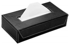 Cranzo Car Tissue Box Black with Free Tissues For Honda HR-V
